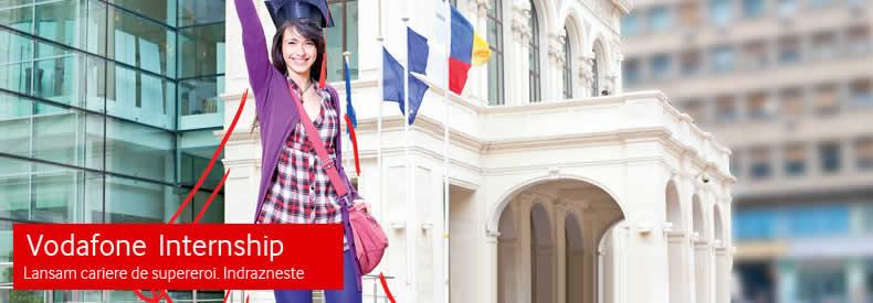 Despre noi Internship la Vodafone banner