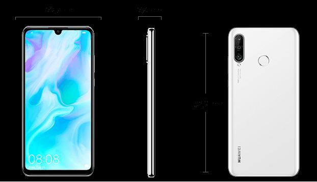 Dimensiuni  Huawei P30 Lite