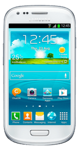 Samsung GALAXY S III Mini 8 GB Alb
