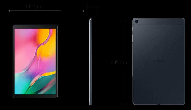 Dimensiuni  Samsung Galaxy Tab A(2019)
