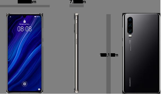Dimensiuni  Huawei P30