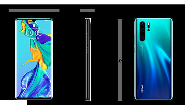 Dimensiuni  Huawei P30 Pro