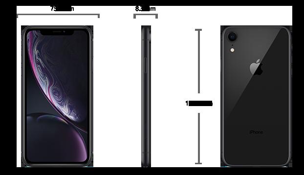 Dimensiuni  iPhone XR