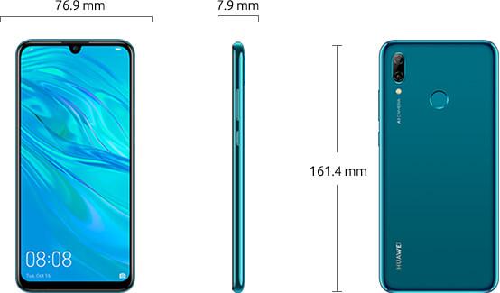 Dimensiuni  Huawei Psmart 2019