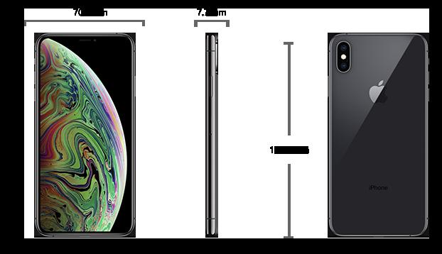 Dimensiuni  iPhone XS