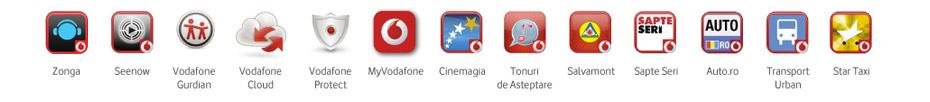 Aplicatii Vodafone