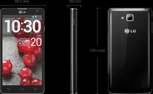 Detalii tehnice LG Optimus L9 II