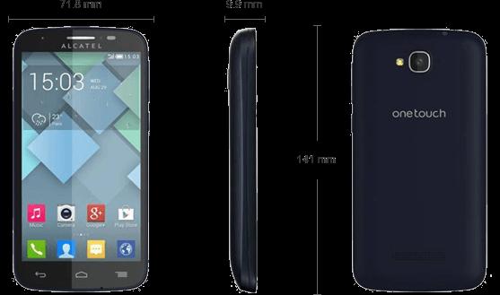 Detalii tehnice Alcatel One Touch Pop C7