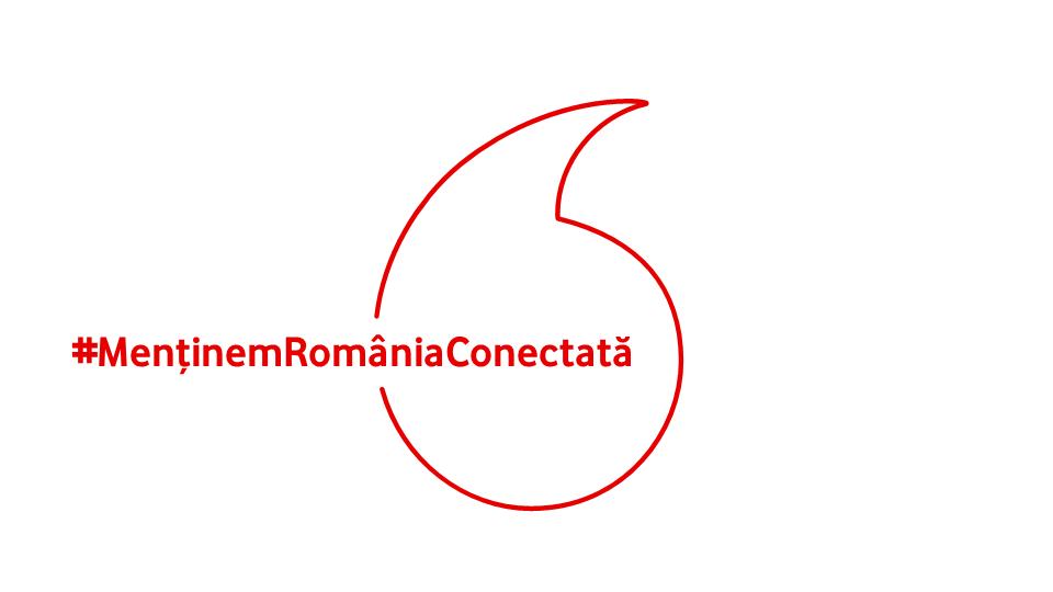 Vodafone menține românii conectați